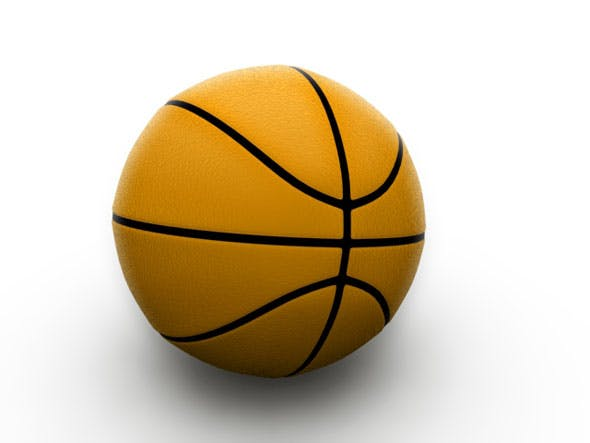 Basketball / 3Ds Max - 3DOcean Item for Sale