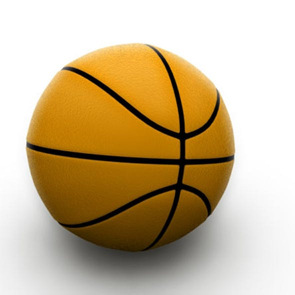 Basketball / 3Ds Max