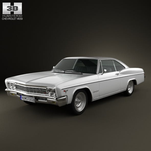 Chevrolet Impala SS Sport Coupe 1966 - 3DOcean Item for Sale