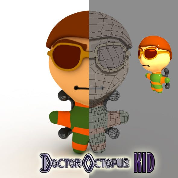 Doctor Octopus Kid Model