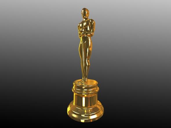 Award Statue - 3DOcean Item for Sale