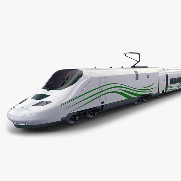 High Speed Passenger Train v 1 - 3DOcean Item for Sale