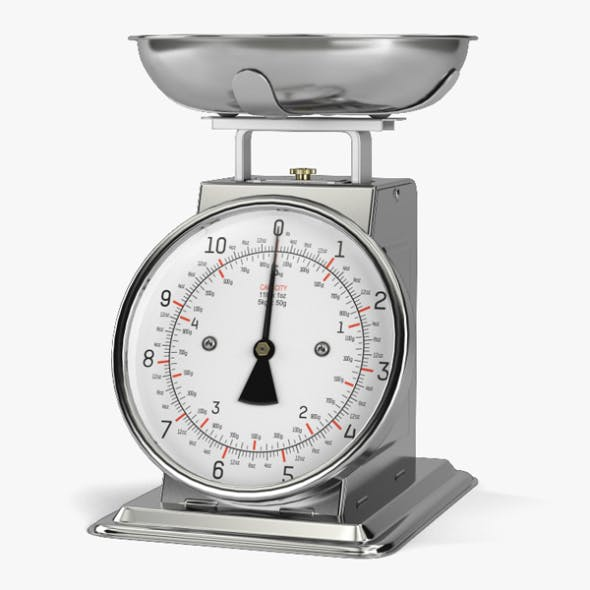 Kitchen Scale - 3DOcean Item for Sale