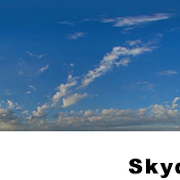 Summer Evening Sky Texture