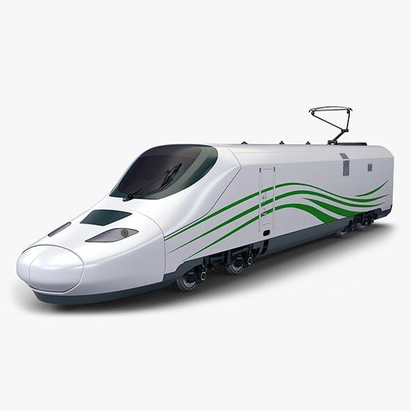 High Speed Electric Locomotive v 1 - 3DOcean Item for Sale