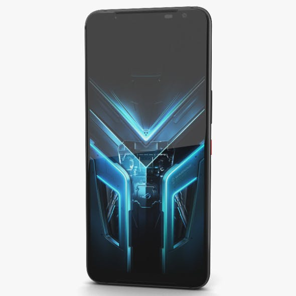 Asus ROG Phone 3 Black Glare