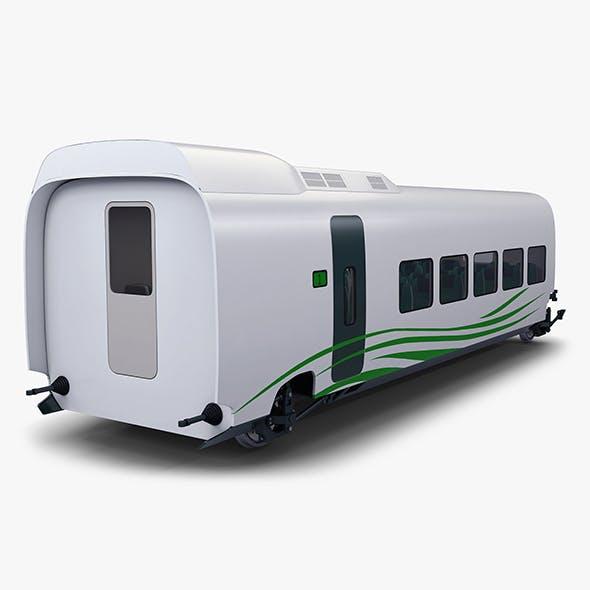 High Speed Railway Passenger Car v 1 - 3DOcean Item for Sale