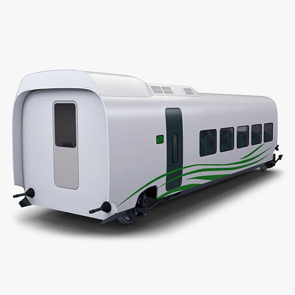 High Speed Railway Passenger Car v 1