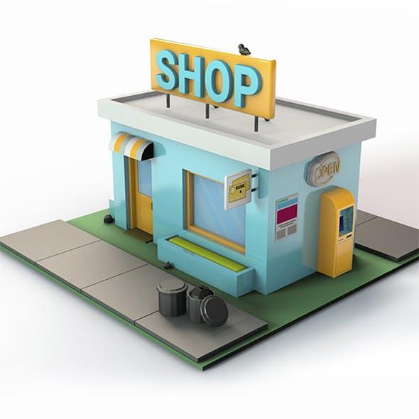 Low Poly Shop