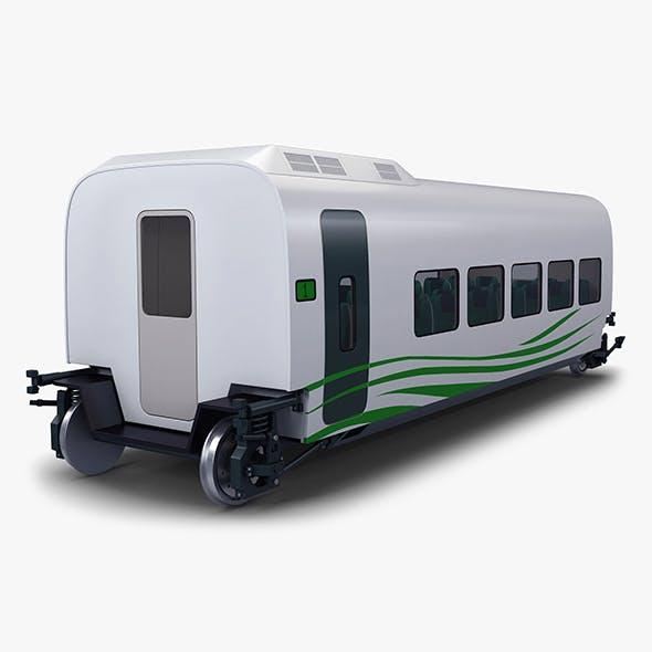 High Speed Railway Passenger Car v 2 - 3DOcean Item for Sale