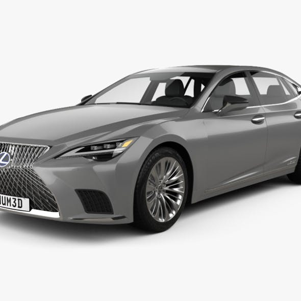 Lexus LS hybrid 2021 - 3DOcean Item for Sale