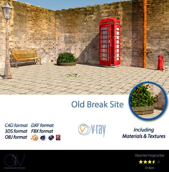 Old Break Site - 3DOcean Item for Sale