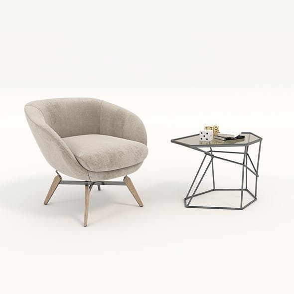 Coffee Table and Chairs 4