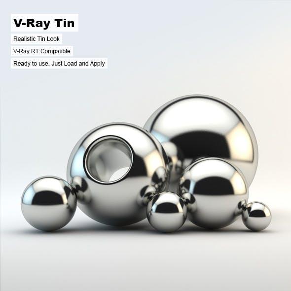 V-Ray Tin Material