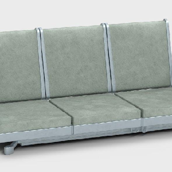 Scifi institute couch