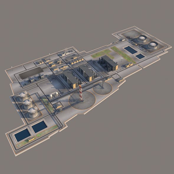 LNG plant and the Oil terminal