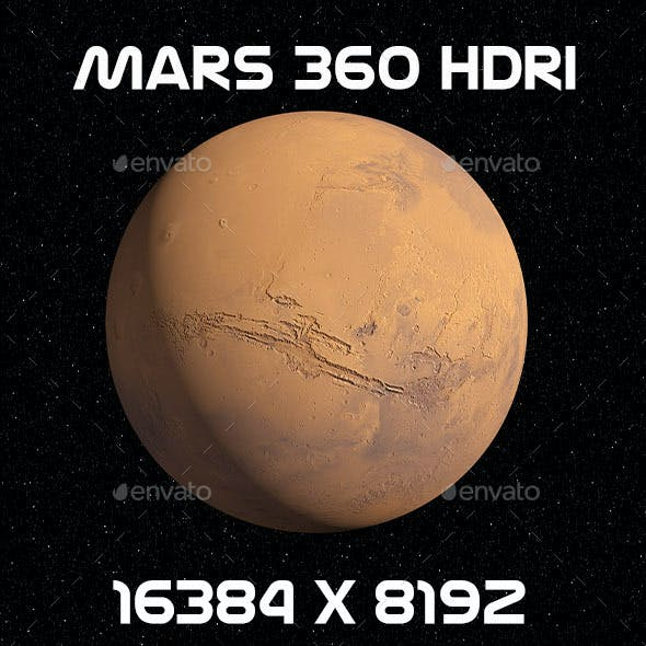 Mars 16K HDRI