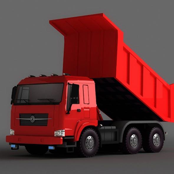 Heavy sand dump construction trucks municipal vehicles