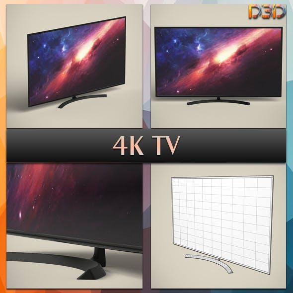 4K TV - 3DOcean Item for Sale