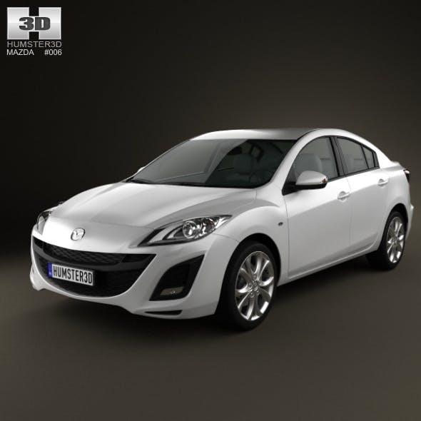 Mazda 3 Sedan 2011 - 3DOcean Item for Sale