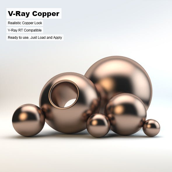 V-Ray Copper Material
