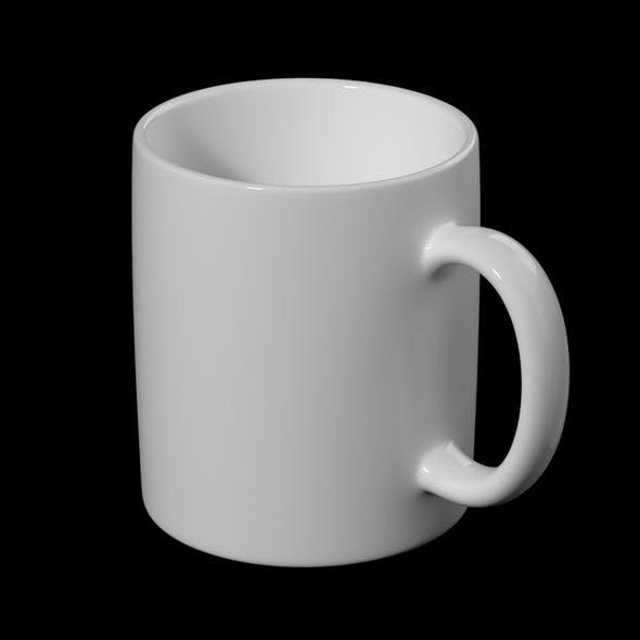 Coffee and Tea Ceramic Mug Base Mesh