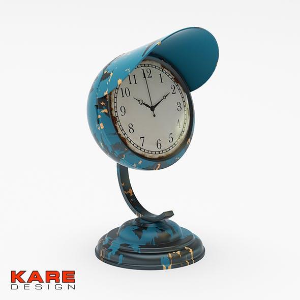 Kare Design Table Clock Scooter Light Blue