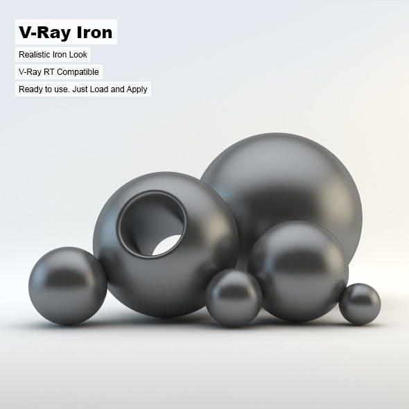 V-Ray Iron Material