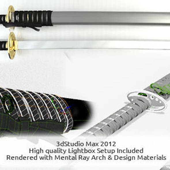 Ninja Sword Hi-Res with Lightbox