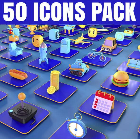 Collection icon pack vol 1