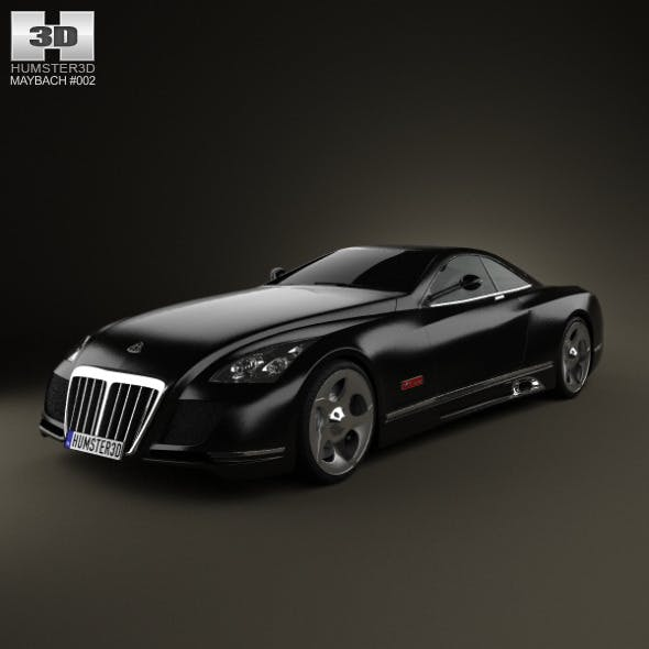 Maybach Exelero 2005 - 3DOcean Item for Sale