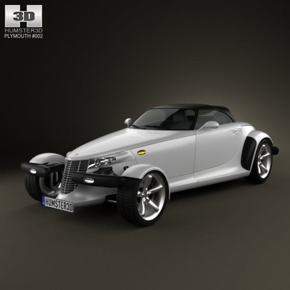 Plymouth Prowler 1999  - 3DOcean Item for Sale