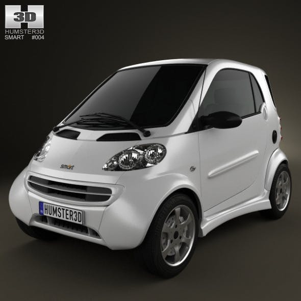 Smart Fortwo 1998 - 3DOcean Item for Sale