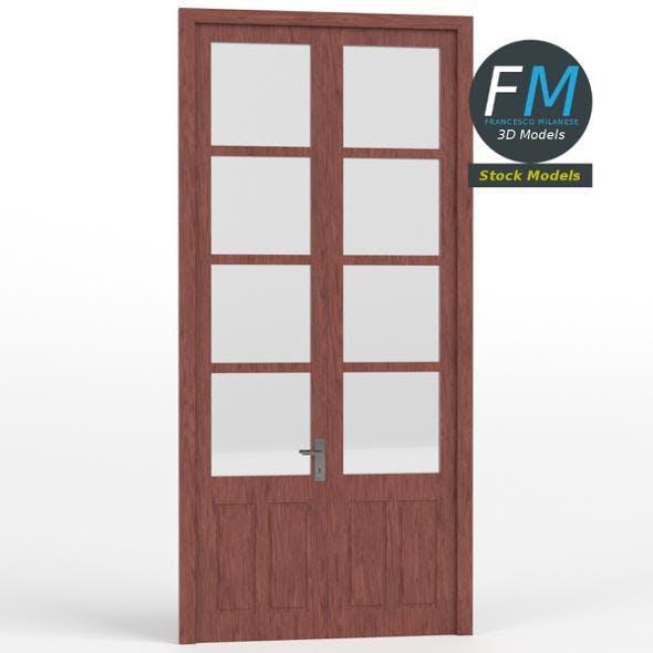 Tall double door - 3DOcean Item for Sale
