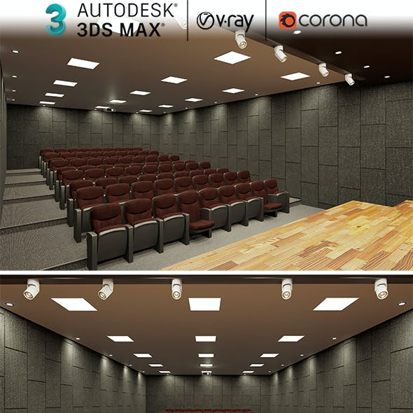 Conference And Theater Hall Design