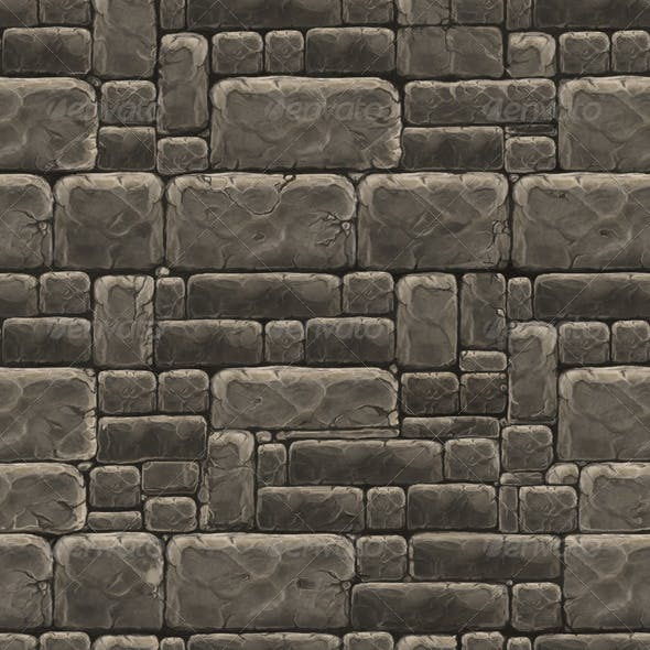 Stone Wall Texture Tile