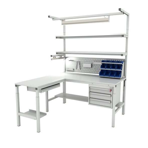 Corner working table