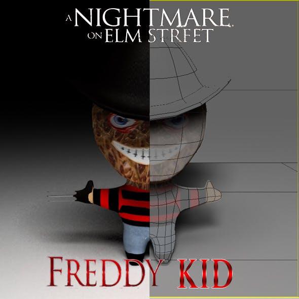 Freddy Kruger Kid Model