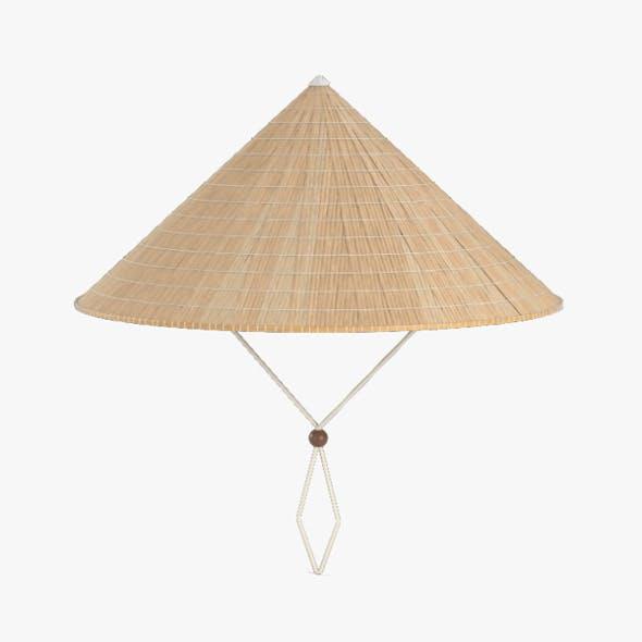 Vietnamese Rice Hat