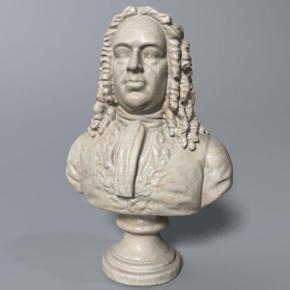 Handel Bust - 3DOcean Item for Sale