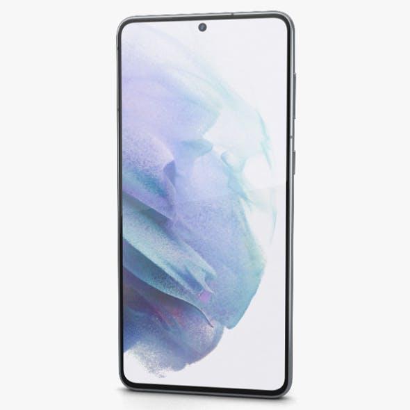 Samsung Galaxy S21 plus 5G Phantom Silver - 3DOcean Item for Sale
