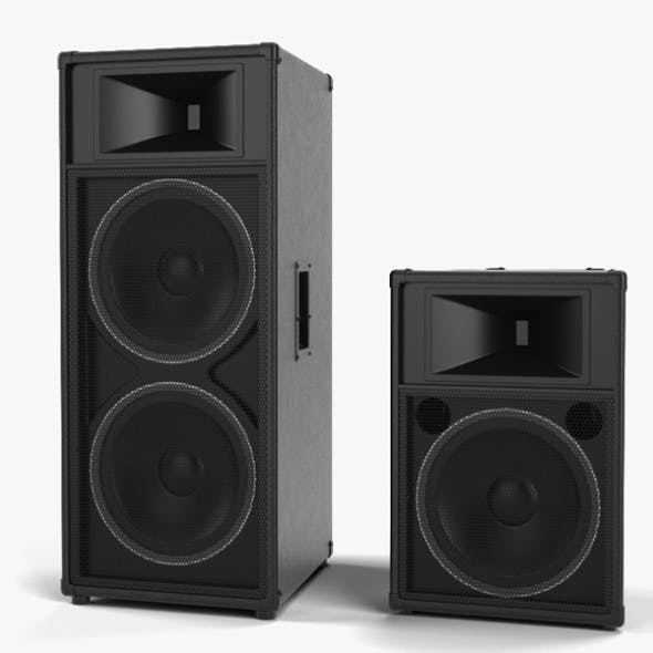 Sound Reinforcement Loudspeaker - 3DOcean Item for Sale