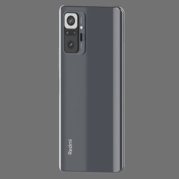 Redmi Note 10 Pro - 3DOcean Item for Sale