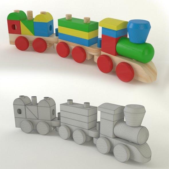 Wood Train Toys