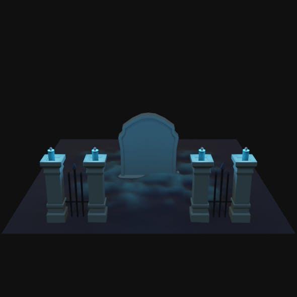 Cemetery - 3DOcean Item for Sale