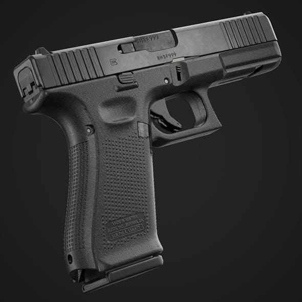 Glock 17 Gen 5 Game Ready - 3DOcean Item for Sale