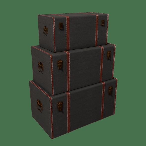Set Storage Trunk - 3DOcean Item for Sale