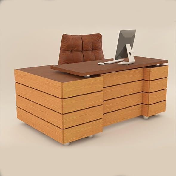 Management desk - 3DOcean Item for Sale
