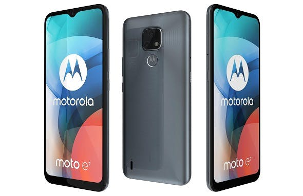 Motorola Moto E7 Mineral Gray - 3DOcean Item for Sale