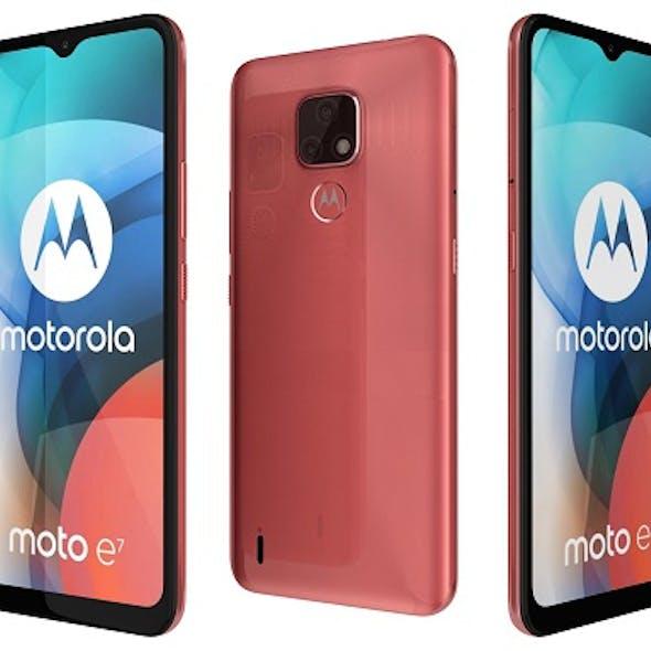 Motorola Moto E7 Satin Coral